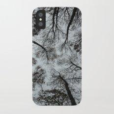 Forest dweller iPhone X Slim Case