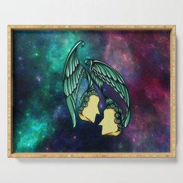 Horoscope Zodiac Gemini Serving Tray