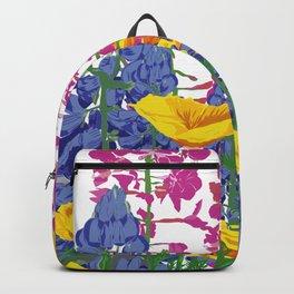Mountain Wildflowers Backpack
