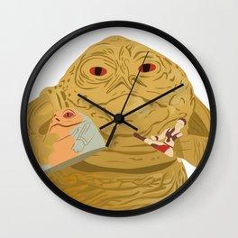 Closeup MJC Wall Clock