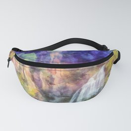 Mountain waterfall Fanny Pack