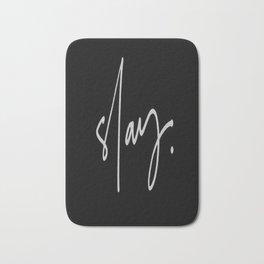 Slay (black) Bath Mat
