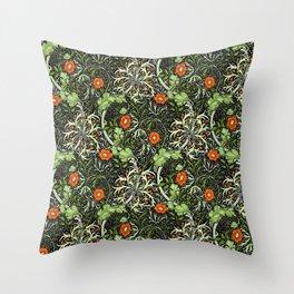 "William Morris ""Seaweed"" 3. Throw Pillow"