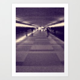 Into the Light. Art Print