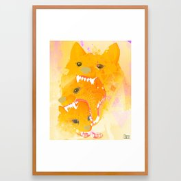 Rewolf! Framed Art Print