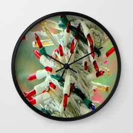 The Red Light District Wall Clock
