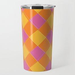 Modern Argyle 1 Travel Mug