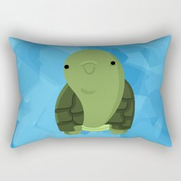 The Happy Turtle Rectangular Pillow