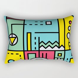 Play on words | Graphic jam Rectangular Pillow