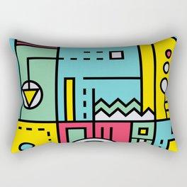 Play on words | Graphic jam Rectangular Pillow
