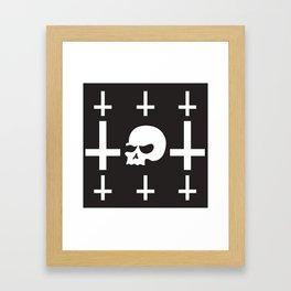 Skeletor Framed Art Print