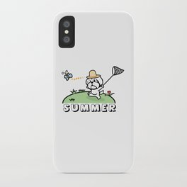 It is summer iPhone Case
