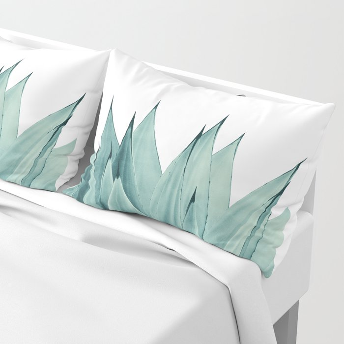 Agave Vibes #8 #tropical #decor #art #society6 Pillow Sham