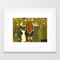 catcher in the rye Framed Art Prints featuring Catcher in the Rye by Yoyo the Ricecorpse