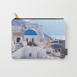 Santorini Island, Greece Carry-All Pouch
