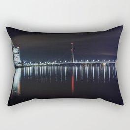 Bridge at evening Rectangular Pillow