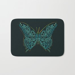 Mechanical Butterfly Bath Mat