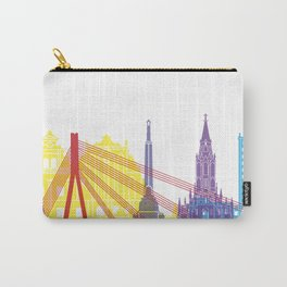 Riga skyline pop Carry-All Pouch