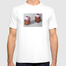 Cupcakes White Mens Fitted Tee MEDIUM