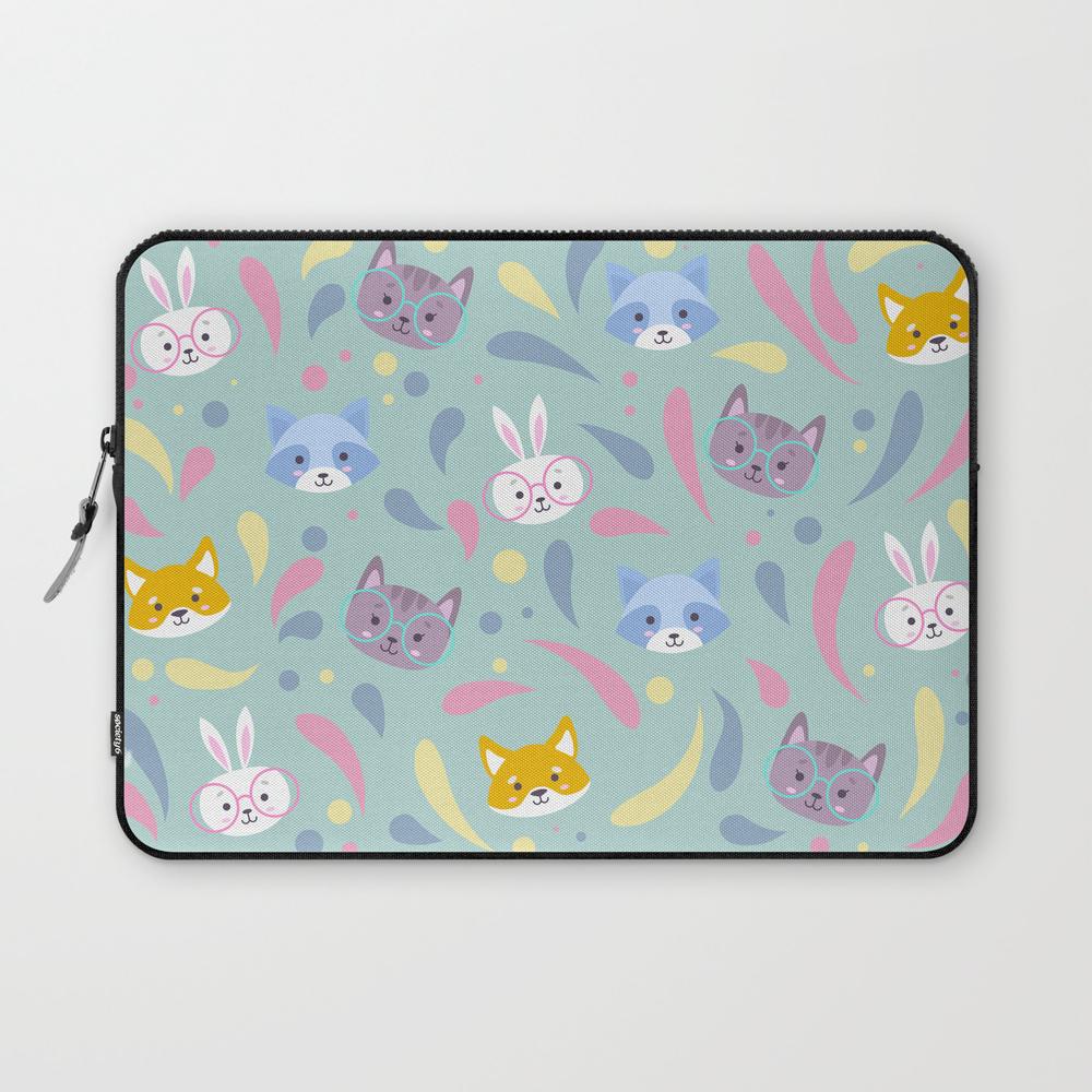 Cute Animals Laptop Sleeve LSV8521702