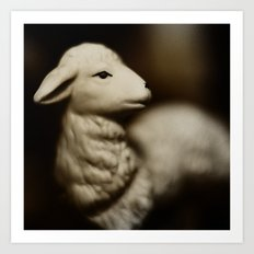 Tom Feiler Lamb Art Print