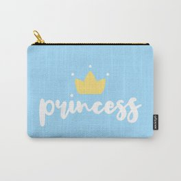 Blue Princess Carry-All Pouch