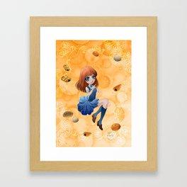 Pains japonais - Japanese breads Framed Art Print