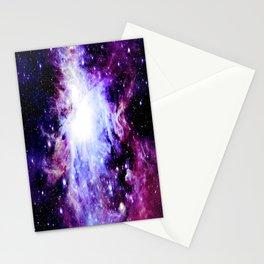 orion Nebula. Purple Magenta Violet Stationery Cards