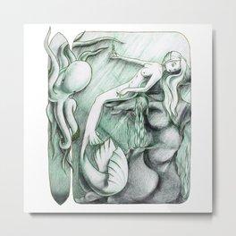 Sea Break Metal Print