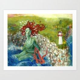 Daughter of the Ocean Art Print