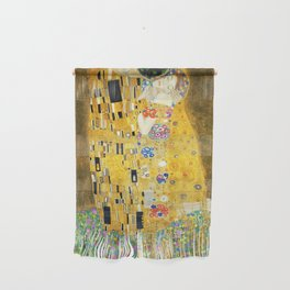 Gustav Klimt The Kiss Wall Hanging