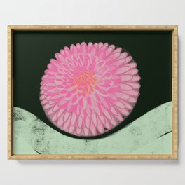 The Blossom of Peace Serving Tray