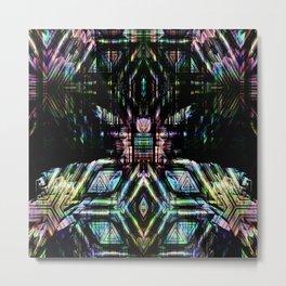 abstract nb Metal Print