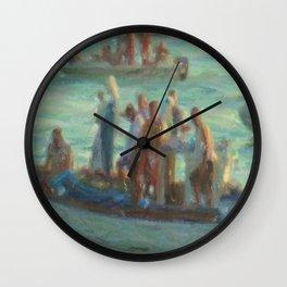 Pescatori Wall Clock