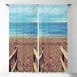 Boardwalk to the Beach Blackout Curtain