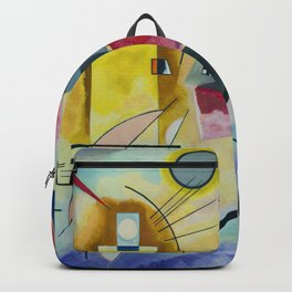 Wassily Kandinsky Geometric Composition Backpack
