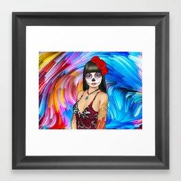 DOTD ROSE Framed Art Print