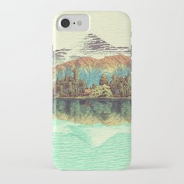 The Unknown Hills in Kamakura iPhone Case