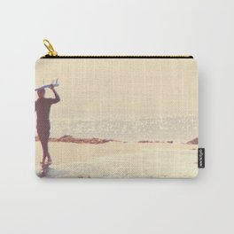 Surfer photograph. A Visceral Need Carry-All Pouch