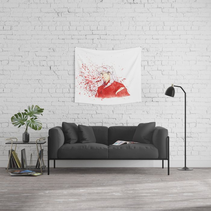 Dog Demon Wall Tapestry