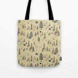 Forrest Pattern Tote Bag