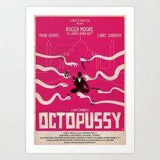 OCTOPUSSY Art Print