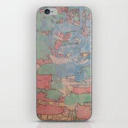 Colourfull world iPhone Skin