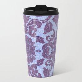 vintage tissue paper  Metal Travel Mug