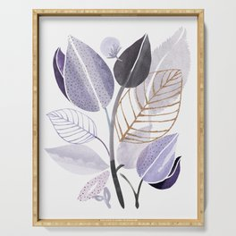 Modern Lavender Watercolor Serving Tray