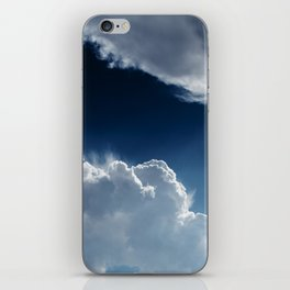 Sky, clouds and lights. iPhone Skin