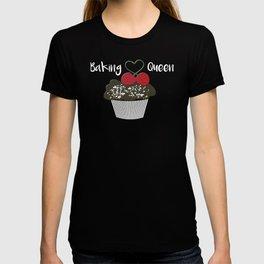 Baking Queen Cupcake Love to Bake T-shirt