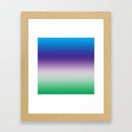 Perfect shades Framed Art Print