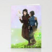 korrasami Stationery Cards featuring Korrasami by JoGoNeXX