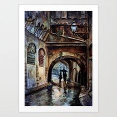 Alleywalkers Art Print